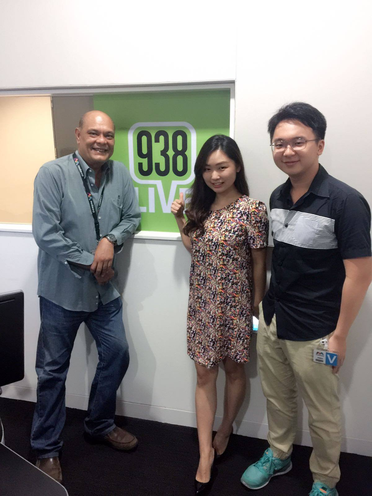 Miao is on 938 Live!