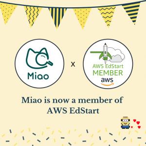 Miao has joined AWS EdStart